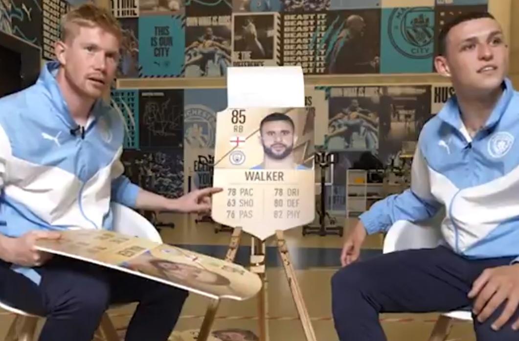 Η φάρσα των Ντε Μπρόινε και Φόντεν με τον Γουόκερ για το FIFA (vid)