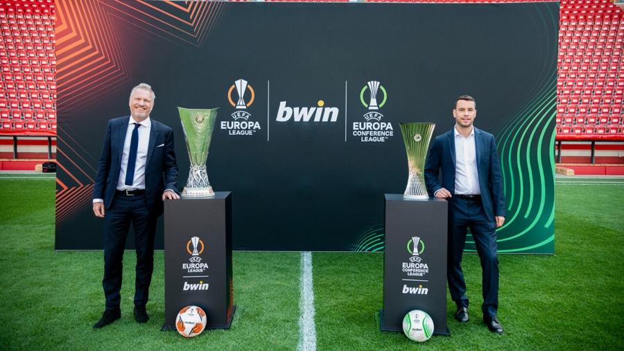 Bwin: Επίσημος συνεργάτης των Europa League - Europa Conference League για τα επόμενα τρία χρόνια!