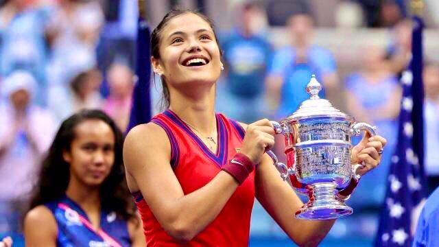 Έμα Ραντουκάνου: Η πρώτη Βρετανή τενίστρια που κατακτά Grand Slam τα τελευταία 44 χρόνια!