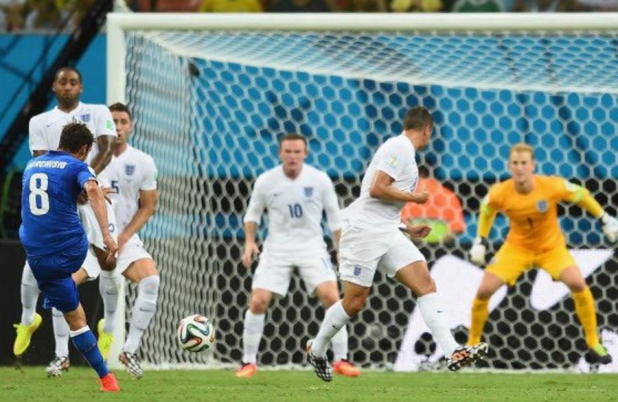 Μαρκίζιο: «Να υπογράψουμε για τον τελικό να... νικήσουμε άλλες χίλιες φορές την Αγγλία»! (pic)