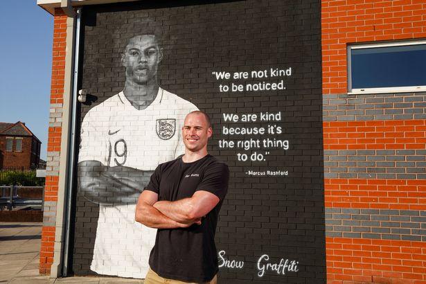 Το νέο εκπληκτικό γκράφιτι για τον Ράσφορντ με το υπέροχο μήνυμα για τα παιδιά (pic)